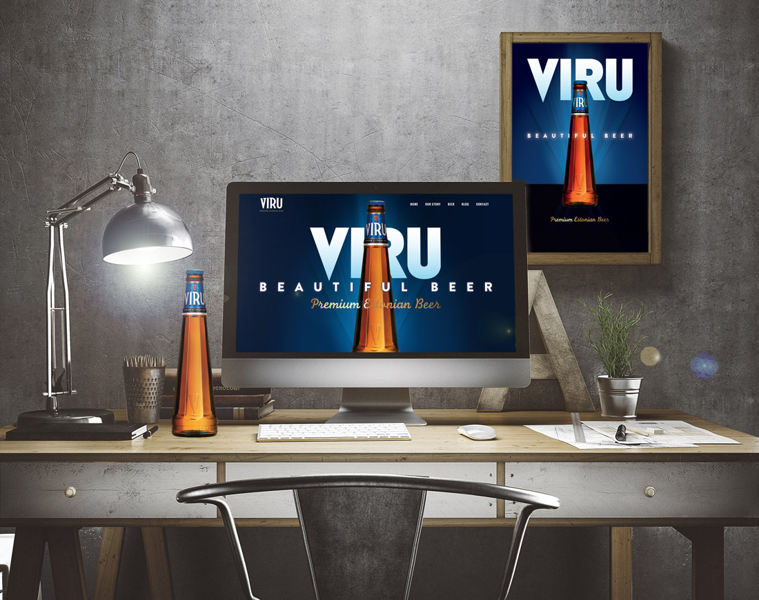 Viru Beer Website Goes Live